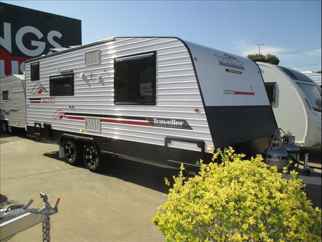 """2016 Traveller Intrigue 19'6""""  ..SOLD....Modern  Classic Styling in a New Model...Commanding Your Inspection."""